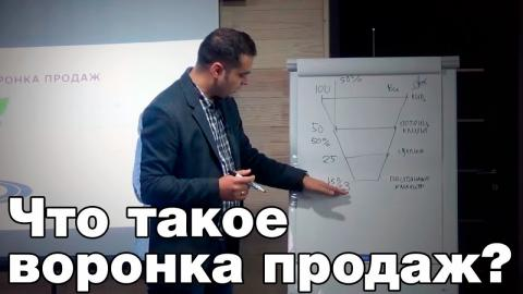Embedded thumbnail for Что такое воронка продаж и ее анализ